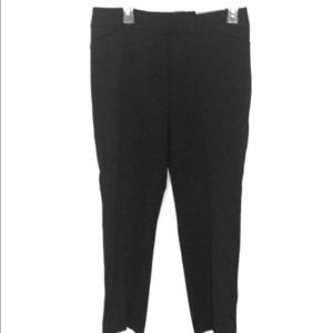 Chico's Black Tapered Ankle Pant